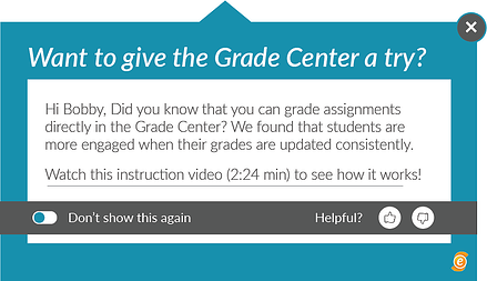 Grade Center - EesyMessage
