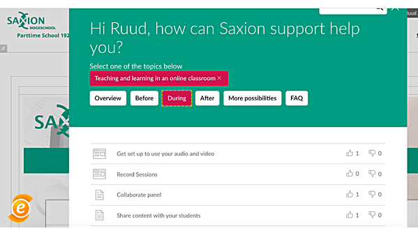 Saxion Support Centre EesySoft