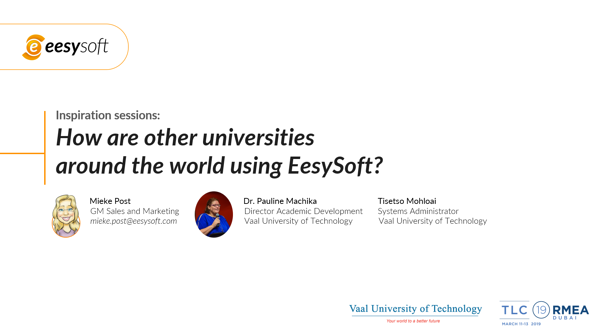 How are other universities around the world using eesysoft